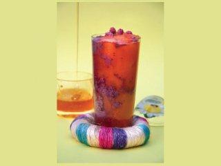 نوشیدنی هویج و تمشك