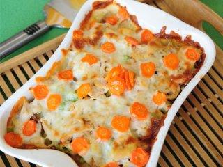 موساکای هویج و مرغ