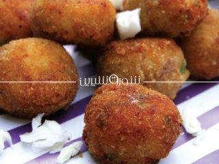 توپهای مرغ و فلفل | غذا با مرغ