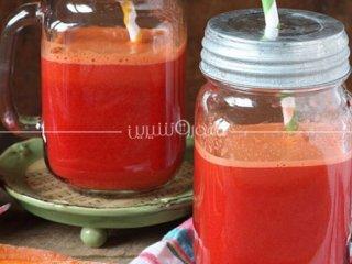 نوشیدنی هویج و چغندر