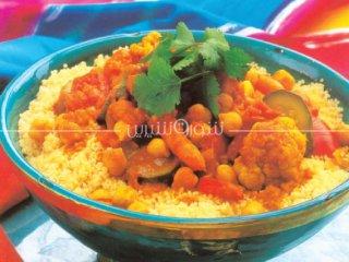 خوراك بلغور و سبزیهای معطر | طرز تهیه خوراک بلغور