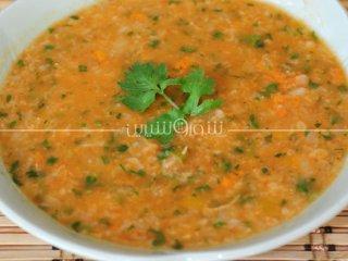 سوپ  اسپانيايي