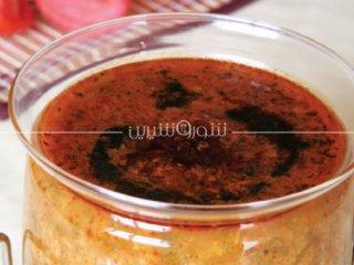 آش گوجهفرنگی | طرز تهیه آش گوجه فرنگی | آش گوجه فرنگی آسان