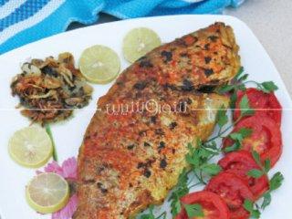 ماهی شكم پر سرخكرده | طرز تهیه ماهی شکم پر | ماهی سرخ شده