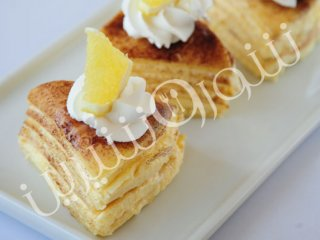 کرپ کیک لیمویی