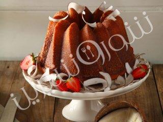 طرز تهیه کیک مرطوب نارگیلی