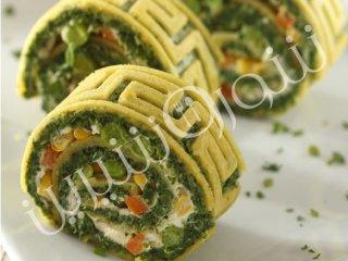 کوکو سبزی فانتزی