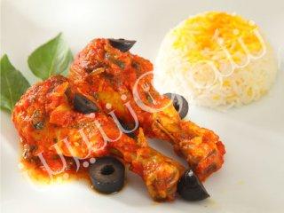 خوراک مرغ و زیتون (ایتالیائی)