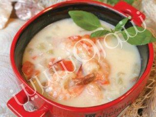 سوپ میگو | طرز تهیه سوپ میگو