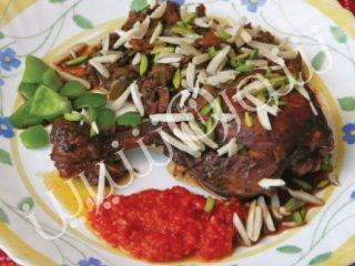 خوراك مرغ با ترهفرنگی | خوراک مرغ
