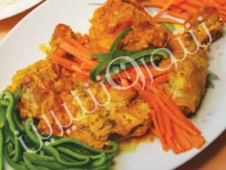 خوراك مرغ جنوبی | طرز تهیه خوراك مرغ جنوبی