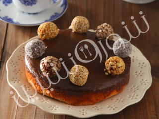 طرز تهیه کیک تافی