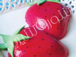 موس توتفرنگی | طرز تهیه موس توتفرنگی