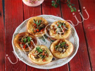 پاپ اُورقارچ (Mushroom Popovers)