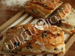 نان چاپاتا با زیتون
