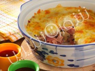 گراتن ژامبون و قارچ