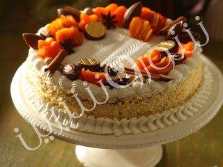 کیک کدو حلوائی و پرتقال