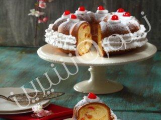 کیک میوههای استوایی