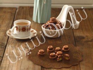 شکلات با فیلینگ نعنا