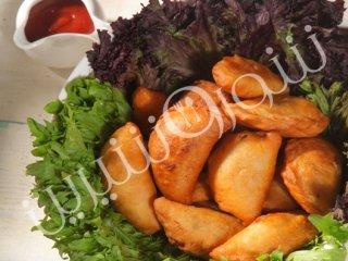 پیراشکی مرغ ترکیه ای