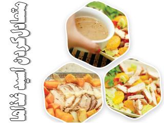 متعادلکردن اسید غذاها