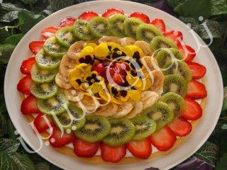 پیتزا میوه