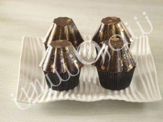 کاپ کیک  موس شکلات