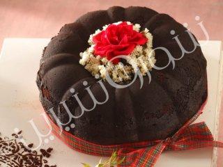 کیک مرطوب شکلاتی