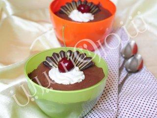 پودینگ شکلاتی