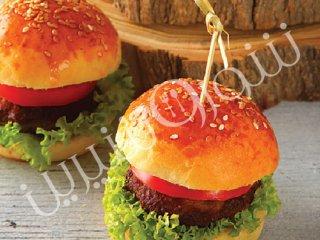 همبرگر قارچ