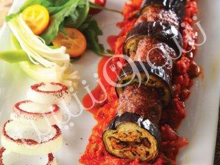 کباب گوشت و بادمجان (ترکیه)