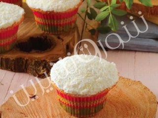 کاپ کیک لیمو و نارگیل
