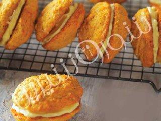 کوکی کیک هویج