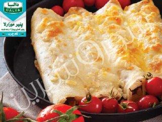 کرپ مرغ پنیری