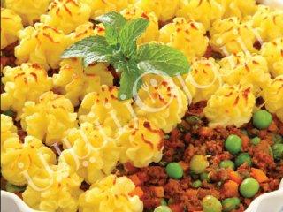 پای گوشت و سبزیجات
