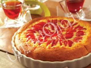 باوارین کیک آلو