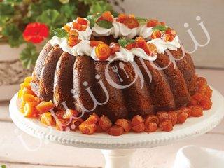 کیک مرطوب پرتقالی