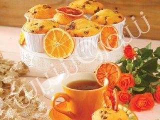 مافین پرتقال و شکلات