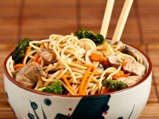 چامین گوشت  و سبزیجات (چین)