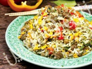 برنج سرخشده ( ویژه تایلند)