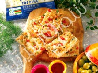 املت ماهی با پنیر
