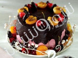کیک میوههای تابستانی