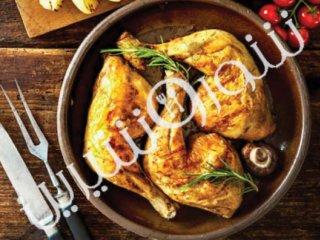 خوراک ران مرغ