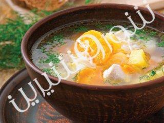 سوپ هویج  با شوید