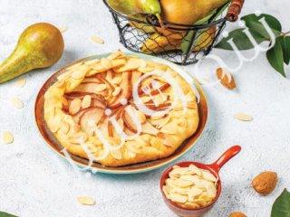 پای داغ سیب و گلابی