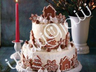 کیک زمستانی