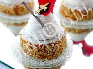 کیک سیروپ بادامی