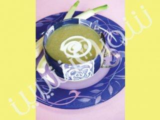 سوپ سرد ترهفرنگي