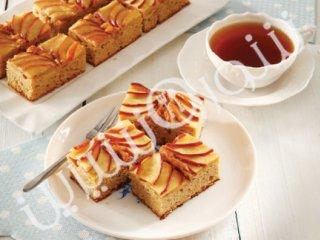 کیک برشی سیب