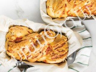 نان پنیر و ژامبون